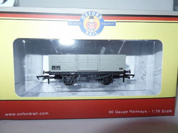 Oxford Rail OR76MW6002 MW6002 1/76 OO 4 Plank Mineral Wagon BR British Railways